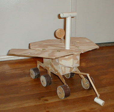 mars rover school project - photo #5