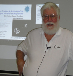 At the August 2014 OASIS Lecture, Peter Swan tells about space elevator technology and how space elevators are indeed feasible.